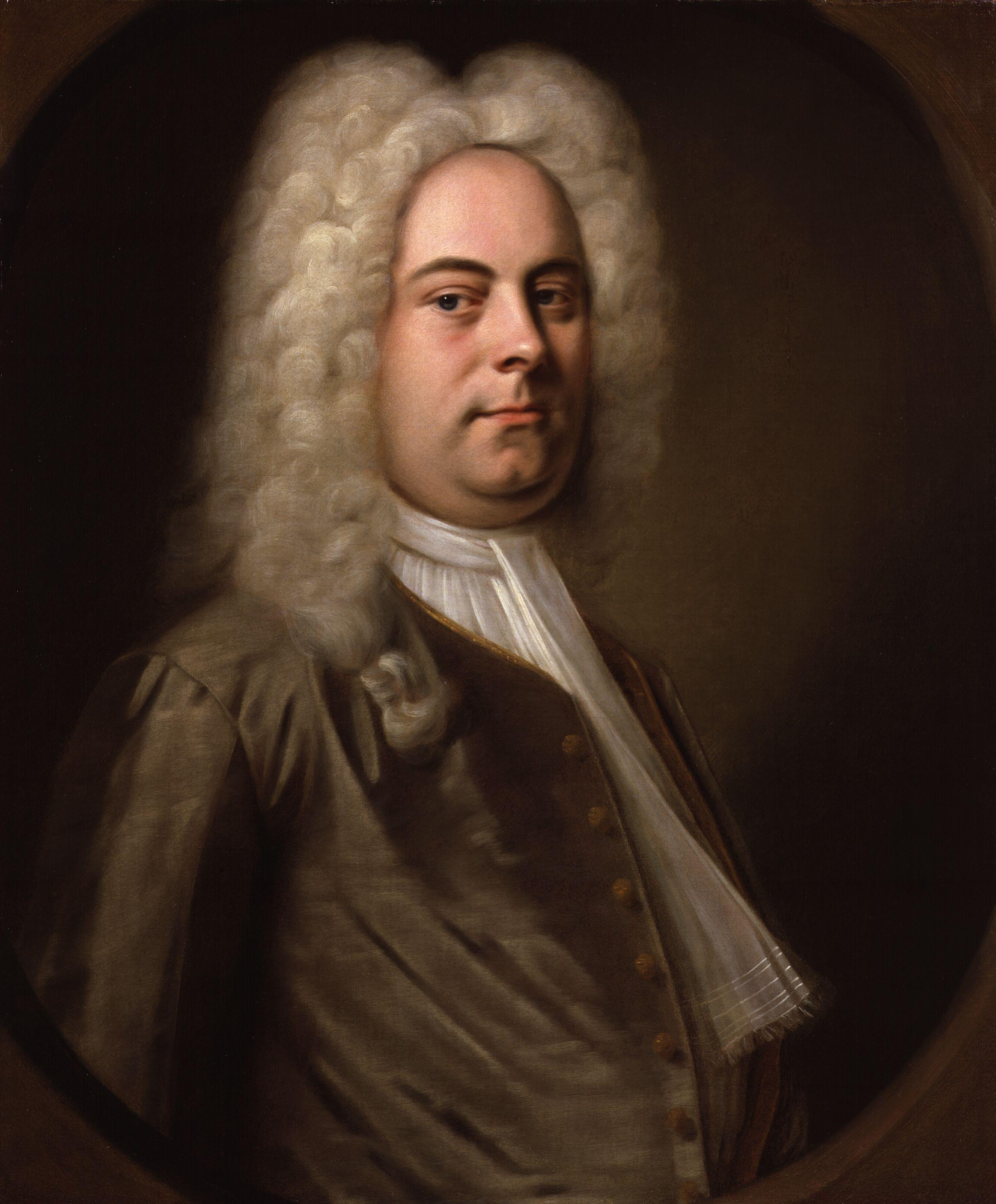 George Frideric Handel, painted by Balthasar Denner