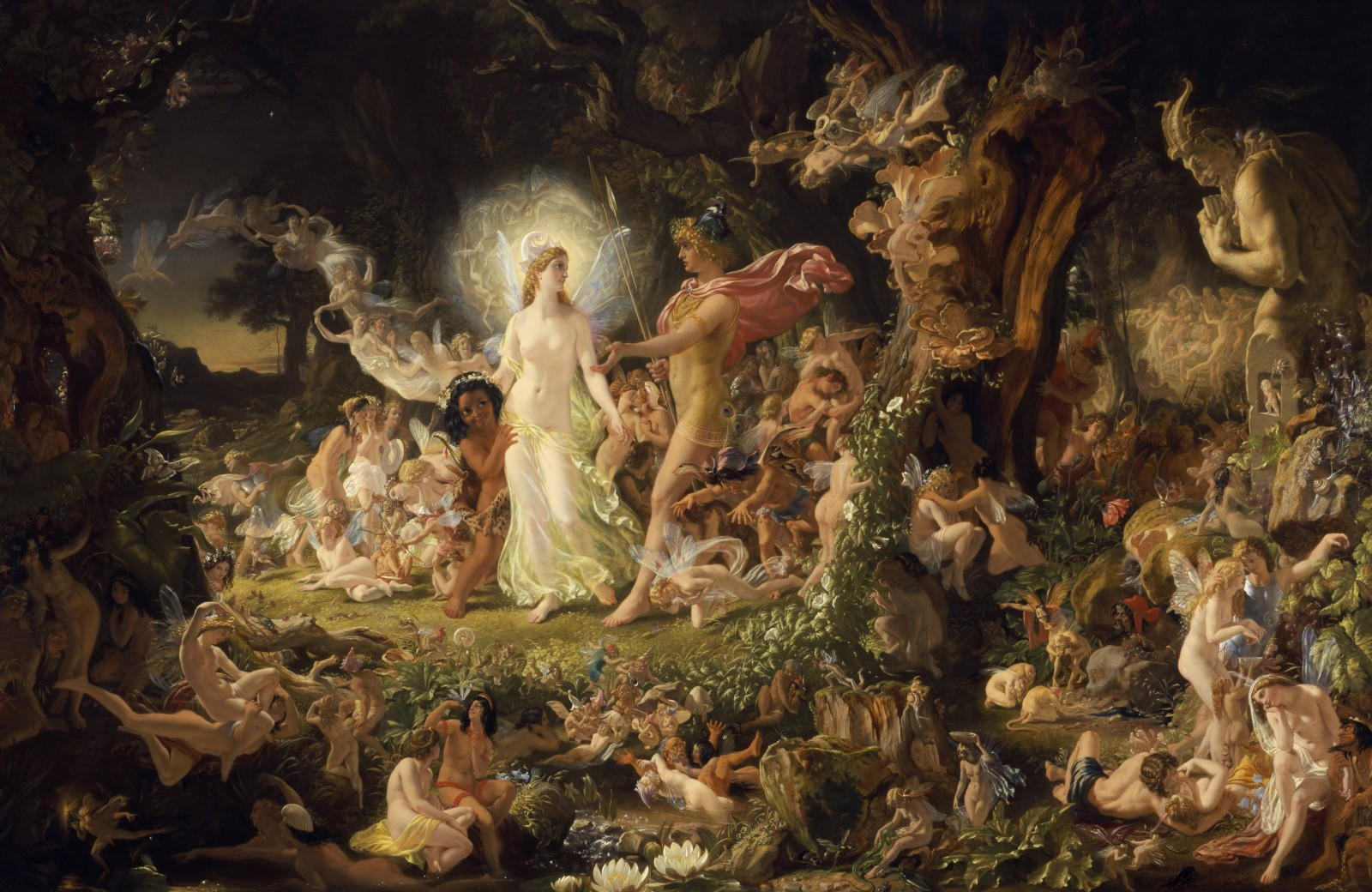Oberon and Titania