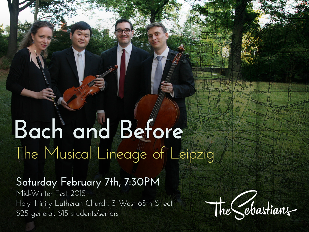 Bach and Before: The Musical Lineage of Leipzig
