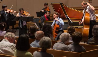 the Sebastians in concert